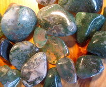 Moss Agate crystal