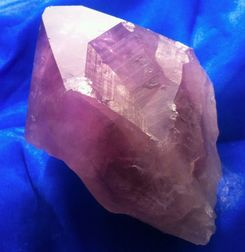 Amethyst large point crystal